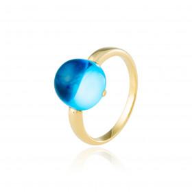Anillo Maxi Azul